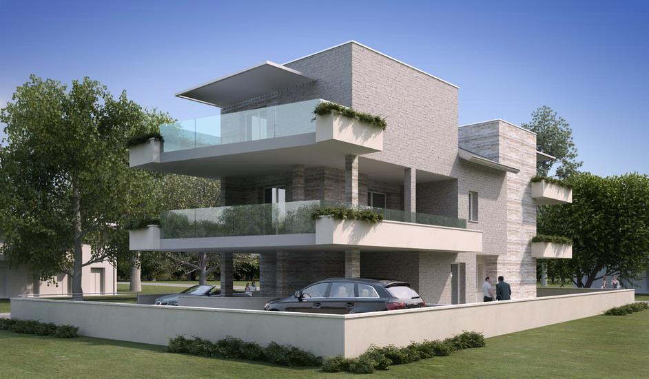 Progetti architettonici spazio 35 studio tecnico for Palazzine moderne